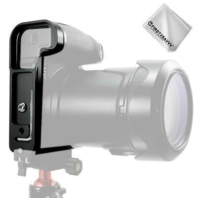 Quick Release L Plate Bracket Holder Hand Grip for Nikon P1000 DSLR Camera
