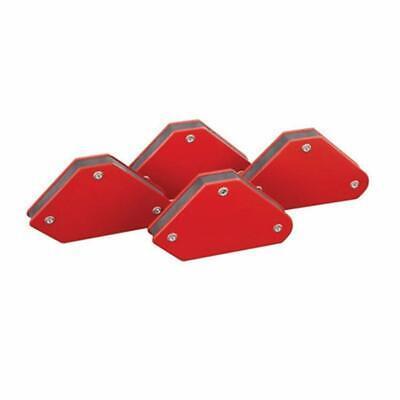 4pc Welding Arrow Magnet Set Mini Weld Holder Up To 10 Lb At 45 90 Or 135 Deg