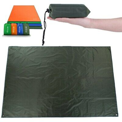 Waterproof Camping Tarp 4 in1 Multifunctional Tent Footprint Lightweight Compact