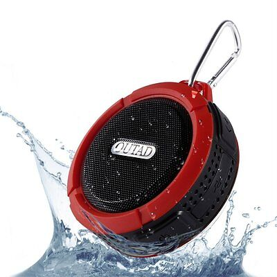 Beats VicTsing Wireless Waterproof Shower Speaker Powerful 5W Driver Suction Cup