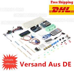 Lab Project UNO R3 1602 LCD Starter Kit für Arduino Nano Mega 2560