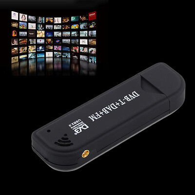 USB 2.0 Digital DVB-T SDR+DAB+FM HDTV TV Tuner Receiver Stick RTL2832U+R820T BT