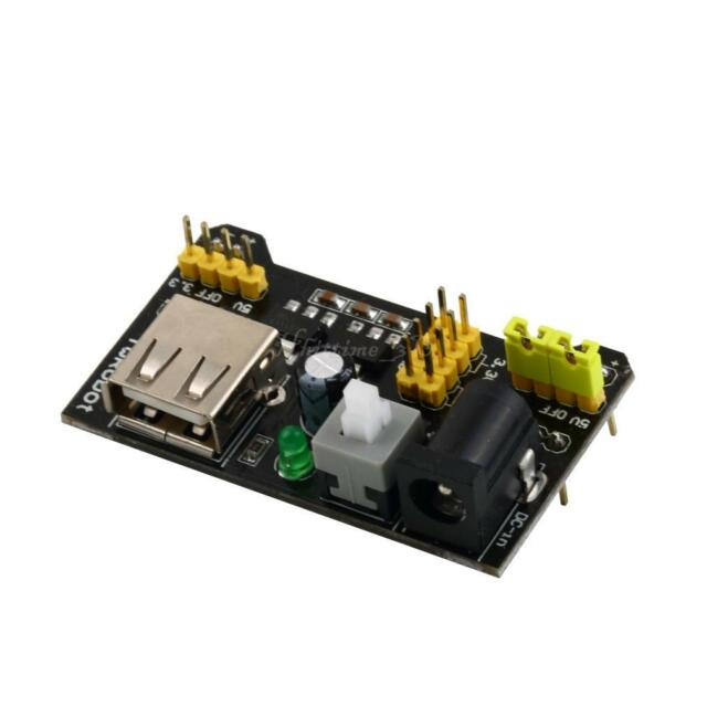 MB102 Breadboard Power Supply Module 3.3V/5V For Solderless Bread Board IT