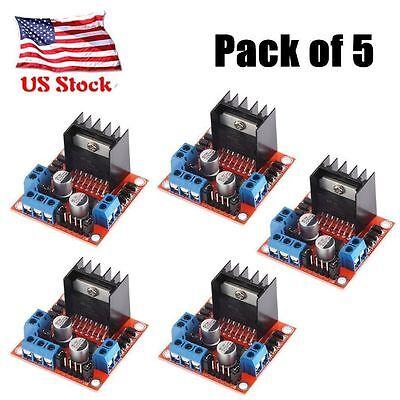 5X Dual H Bridge DC Stepper Motor Drive Controller Board Module Arduino L298N OP