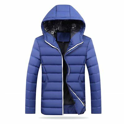 Men's Winter Slim Hoodie Warm Hooded Sweatshirt Coat Jacket Outwear Sweater BP
