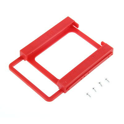 2.5 to 3.5 SSD HDD Notebook Hard Disk Drive Mounting Bracket Adapter Holder MN