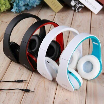 Bluetooth headphones with microphone wireless headset for Cellphone PC Laptop
