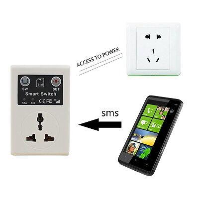 EU plug Cellphone Phone PDA GSM RC Remote Control Socket Power Smart Switch #~