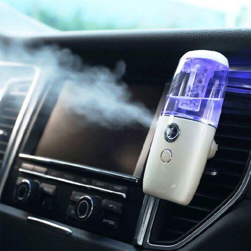White Mini Humidifier Car Ultrasonic Essential Air Diffusers