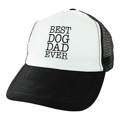 Dog Dad Best Dog Dad Ever Gifts for Dog Dad Dog Hats for Men Gifts Trucker
