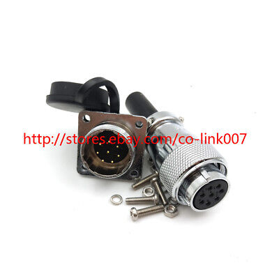 Ws20 8pin Waterproof Connector High Voltage Power Cable Connector Plug Socket
