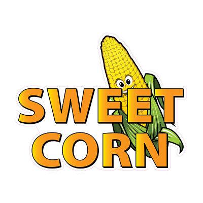 Sweet Corn Concession Restaurant Food Truck Die-cut Vinyl Sticker