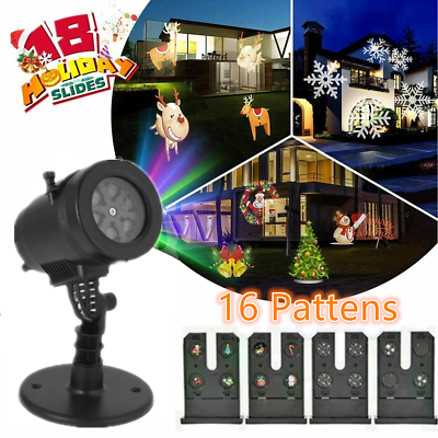 !Black Friday !Christmas Light Projector LED Laser Outdoor Landscape Xmas Lamp
