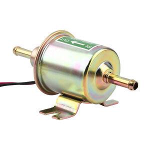 New Universal 12V Heavy Duty Gas Diesel Inline Low Pressure Electric Fuel Pump