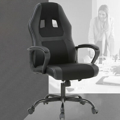 Racing Office Chair Desk Gaming Chair Ergonomic Computer Chair W Lumbar Support