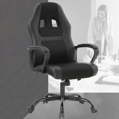 Racing Office Chair, Desk Gaming Chair Ergonomic Computer Chair w Lumbar Support