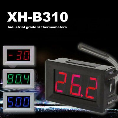 Digital Thermocouple Meter Led Display K-type Industrial Thermometer Gauge So
