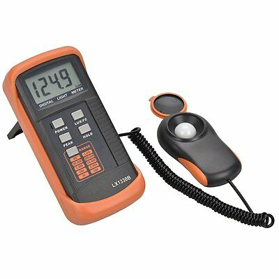 Tekpower Lx1330b Digital Illuminance Light Meter 0 - 200000 Lux Luxmeter