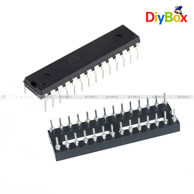 Atmega328p-pu Atmega328p Dip28 Ic Microcontroller Bootloader 28pin Narrow Socket