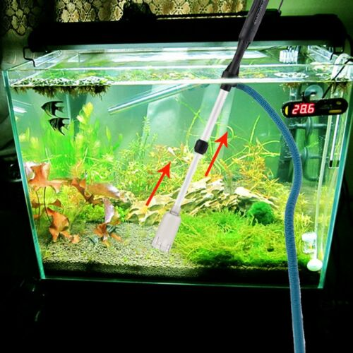 mulmsauger schlammsauger saugglocke aquarium staubsauger bodenreiniger fisch de ebay. Black Bedroom Furniture Sets. Home Design Ideas
