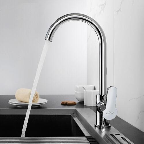 Wasserhahn Küchenarmatur Spültischarmatur Einhandmischer Mischbatterie für Küche