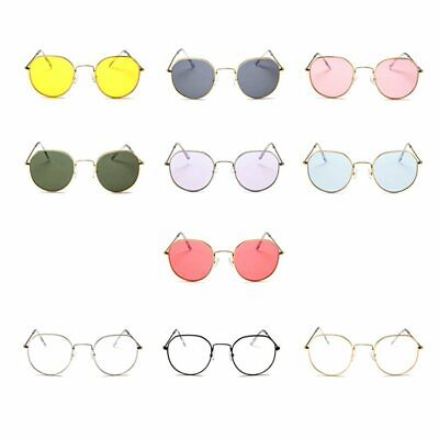 Große Sonnenbrille koreanische Mode Brille transparent retro SonnenbrilleE