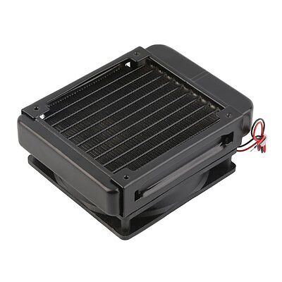 120mm Water Cooling CPU Cooler Row Heat Exchanger Radiator with Fan for PC HOT T
