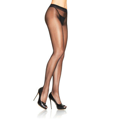 Leg Avenue Stockings Women's Lycra Spandex Sheer To Waist Support Pantyhose - Sheer To Waist Pantyhose