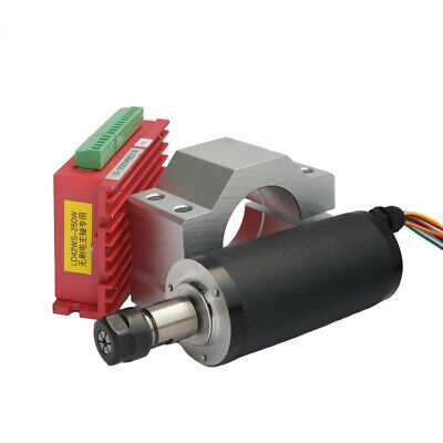 Er11 250w Cnc Brushless Spindle Motor Driver With Mount Bracket For Engraving