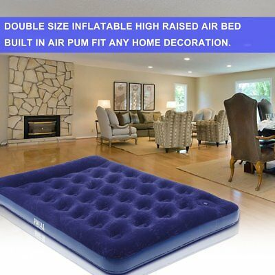 Bestway Inflatable Air Bed Travel Camping Mattress Pad Bulit