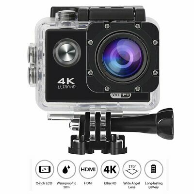 4K Ultra HD 1080P Waterproof Sport Camera WiFi Action Camcorder as Go Pro WF