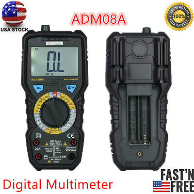 Bside Adm08a Value Digital Multimeter Temperature Capacitance Frequency Test