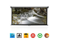 BRAND NEW,,72,, Manual Pull Down Projector Screen