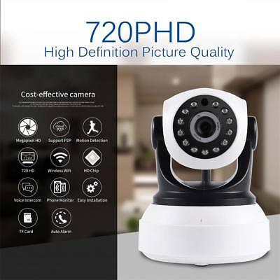 720P Outdoor Wireless WIFI IP Camera SD Slot Network Night Vision CCTV Security](720p wireless ip camera)