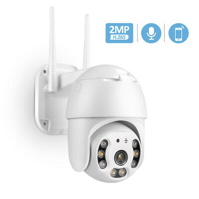 WiFi Batería 1080P HD Cámara Vigilancia Exterior Sin Cable Audio Bidireccional