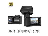 Mini Dash Cam, LESHP Super HD 1296P Car Dashboard Camera (16G Card Included) 1.5 inch