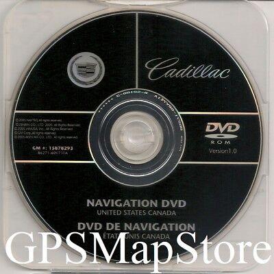 2007 2008 2009 Cadillac Escalade ESV EXT & Hybrid Navigation DVD Map U.S Canada