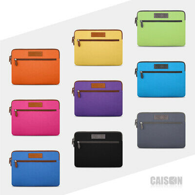 "CAISON Laptop Sleeve Case For 11/12/13.3/14/15.6"" MacBook Ipad Pro Air Ultrabook"