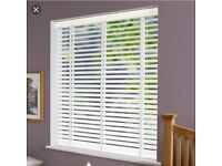 Wooden blinds for sale 1.45m (w) x 1.6m (h)