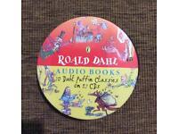 For sale Ronald Dahl audio books on 27 cds.