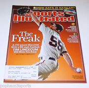 Tim Lincecum Sports Illustrated