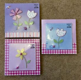 Very Pretty Girl's Bedroom Picture Tiles x 3 ** Brand New and Unopened**