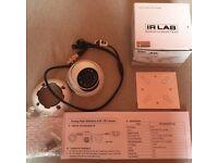 White IRLAB CIR-EBS44GRC Hybrid 4-in-1 1080P 15m IR 2.8mm Fixed Lens Eyeball Surveillance Camera