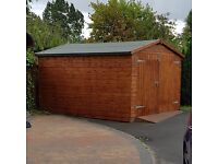 Large Wooden Shed 10' x 11' only 1 year old