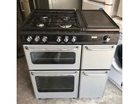 STOVES NEWHOME 800DFDOM DUAL FUEL RANGE COOKER EXCELLENT CONDTION, 3 MONTH WARRANTY