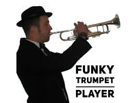 Funky trumpet player wanted