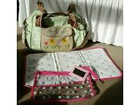 Pink Lining nappy bag