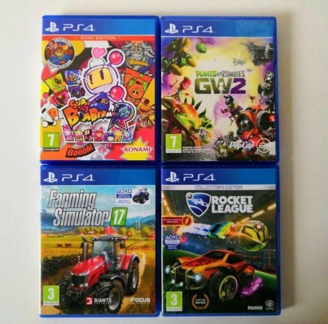 4 PS4 Games [Bomberman, Rocket League, Plants Vs Zombies, Farming  Simulator] | in Bolton, Manchester | Gumtree