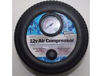 12v Air Compressor - To inflate Car/Caravan Tyres