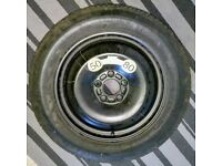 16 inch tubeless spare wheel ( never used )